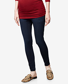 DL1961 Maternity Dark-Wash Skinny Jeans