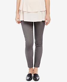Motherhood Maternity Printed Skinny Pants