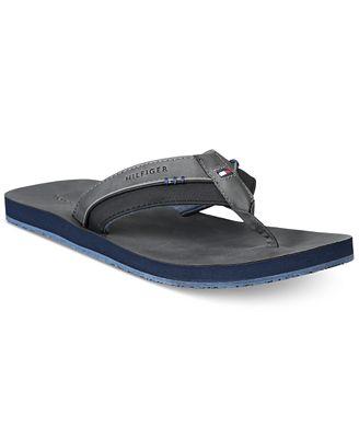 Tommy Hilfiger Men's Davidson Flip-Flops