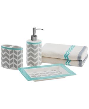 Intelligent Design Nadia/Elle 5-Pc. Bath Accessory Set Beddi