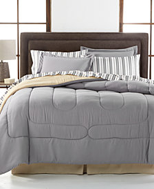 Navy Yard Reversible 8-Piece Queen Bedding Ensemble