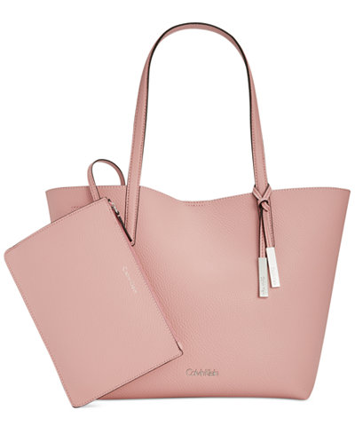 Calvin Klein Key Item Medium Tote with Pouch