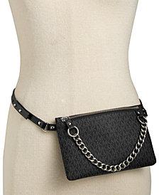 MICHAEL Michael Kors Signature Leather Fanny Pack