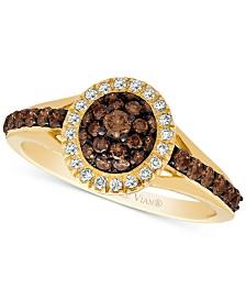 Le Vian Chocolatier® Diamond Ring (3/4 ct. t.w.) in 14k Gold