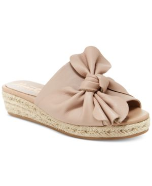 Nanette by Nanette Lepore Dominik Knotted Wedge Flats Women