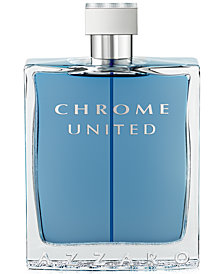 Azzaro Men's CHROME UNITED Eau de Toilette Spray, 6.8 oz