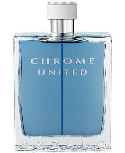Azzaro Men's CHROME UNITED Eau de Toilette Spray, 6.8 oz