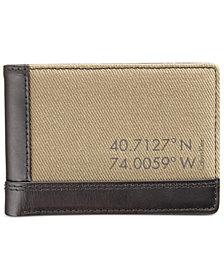 Calvin Klein Men's Canvas Billfold Wallet