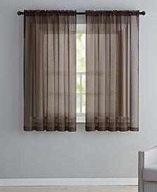 Victoria Classics Infinity Sheer Window Panels and Valances