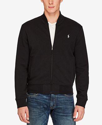Polo Ralph Lauren Double-Knit Bomber Jacket
