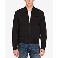 Polo Ralph Lauren Double-Knit Bomber Jacket (Black)