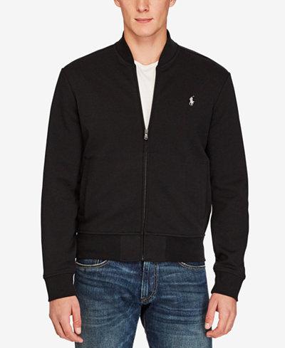 0bdd2bed065 Polo Ralph Lauren Men s Double-Knit Bomber Jacket