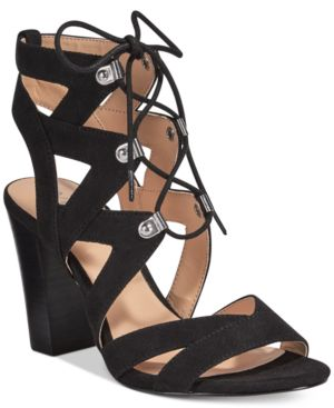 Xoxo Barnie Lace-Up Sandals Women