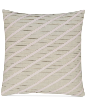 """Image of Hotel Collection Rosequartz Linen 18"""" Square Decorative Pillow, Created for Macy's Bedding"""