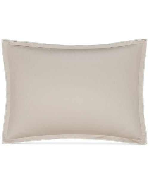 Hotel Collection  CLOSEOUT!  Contrast Flange King Sham, Created for Macy's