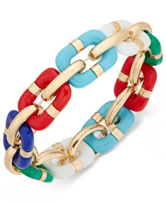 Image of Charter Club Link Stretch Bracelet, Only at Macy's