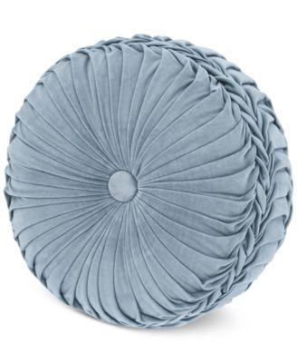 "Jordyn Olivia Tufted 15"" x 4"" Round Decorative Pillow"