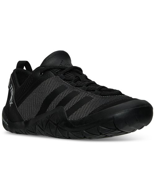 new style e5254 efb33 ... adidas Mens Terrex ClimaCool Jawpaw Lace-Up Outdoor Sneakers from  Finish ...