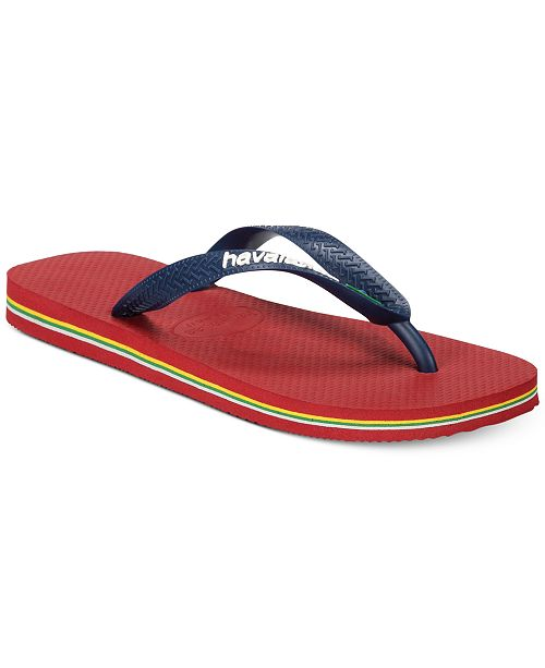 818dbd9cc Havaianas Men s Brazil Logo Flip Flop Sandals   Reviews - All Men s ...