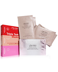 Shiseido Triple Task Mask Set