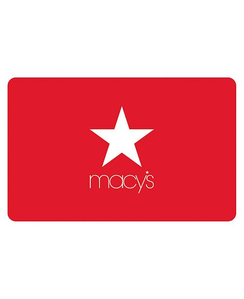 Macy's Classic Gift Card with Greeting Card