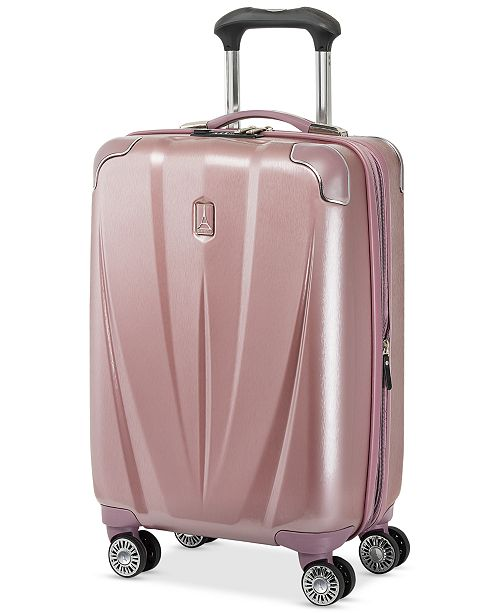 "Travelpro CLOSEOUT! Pathways 21"" Expandable Spinner Suitcase, Created for Macy's"