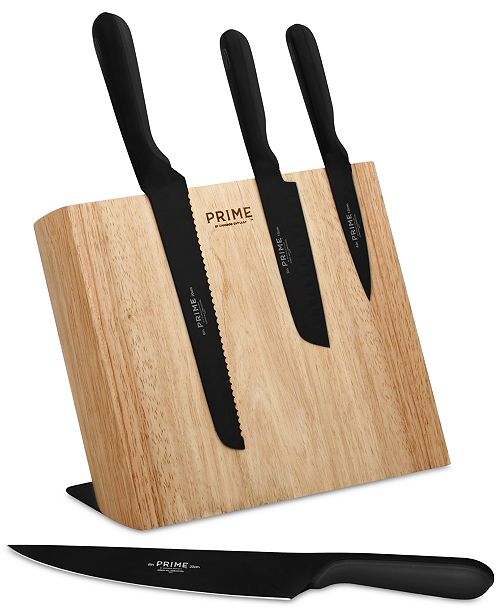 chicago cutlery prime 5 pc magnetic block cutlery set cutlery
