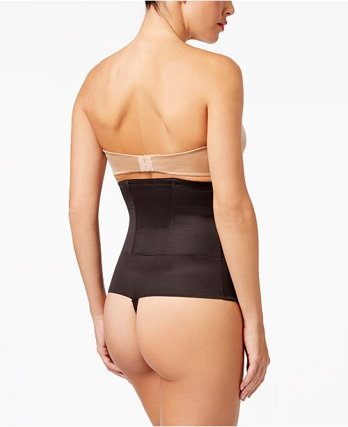 54cf4025b5acf Miraclesuit Extra-Firm Tummy-Control Inches Off Waist Cinching Thong 2728  ...