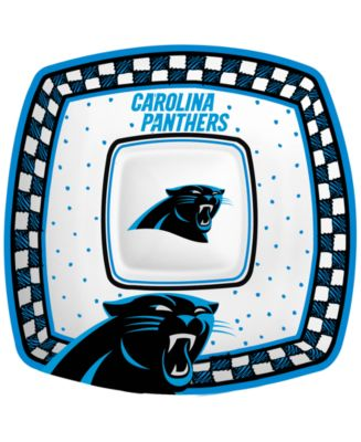 Carolina Panthers Gameday Ceramic Chip & Dip Plate