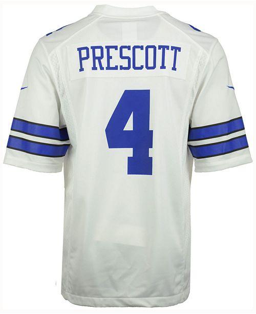 Nike Men s Dak Prescott Dallas Cowboys Game Jersey - Sports Fan Shop ... 08daf575d