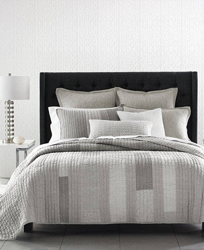 CLOSEOUT! Hotel Collection Broken Stripe Quilt Collection, Created for Macy's