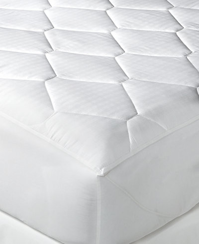 Tommy Hilfiger Home Quilted Windowpane Twin Mattress Pad