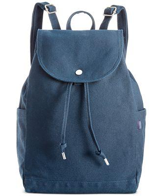Baggu Cotton Drawstring Backpack Handbags Amp Accessories