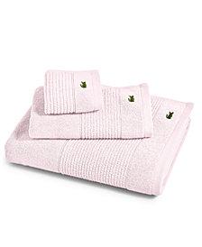 """Lacoste Legend 13"""" Square Supima Cotton Washcloth"""