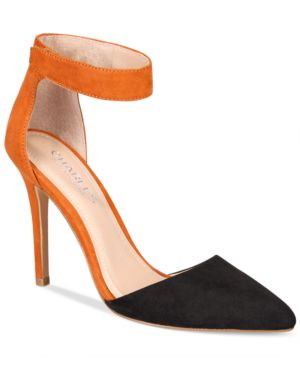 Charles by Charles David Pointer Two-Piece Pumps Women
