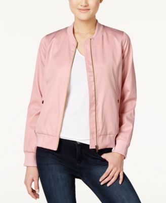 Image of Hippie Rose Juniors' Bomber Jacket