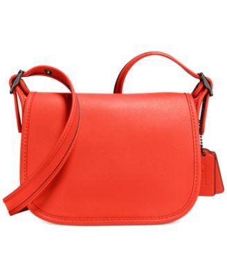 coach outlet factory online store 5vtl  COACH Glovetanned Saddle Bag 18