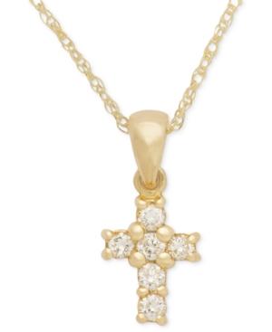 Cross Diamond Pendant...