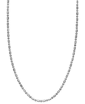 Giani Bernini Sterling Silver Necklace, 18-24