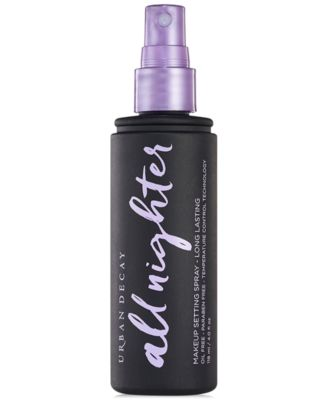All Nighter Makeup Setting Spray - Long Lasting, 4 oz