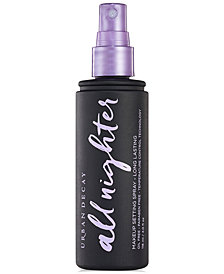 Urban Decay All Nighter Makeup Setting Spray - Long Lasting, 4 oz