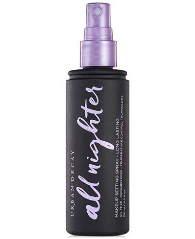 Urban Decay All Nighter Makeup Setting Spray - Long Lasting