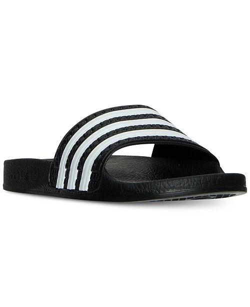 25c3525ac097 adidas Big Boys  Adilette Slide Sandals from Finish Line   Reviews ...