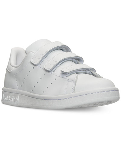 adidas Boys' Stan Smith Velcro Casual Sneakers from Finish Line
