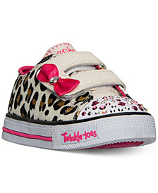 Skechers Toddler Girls' Twinkle Toes: Shuffles - Sparkle Sass Casual Sneakers from Finish Line