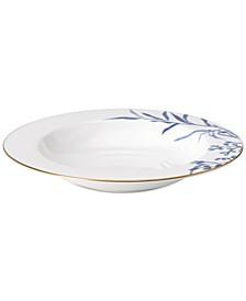 Birch Way Indigo Collection Pasta Bowl/Rim Soup Bowl