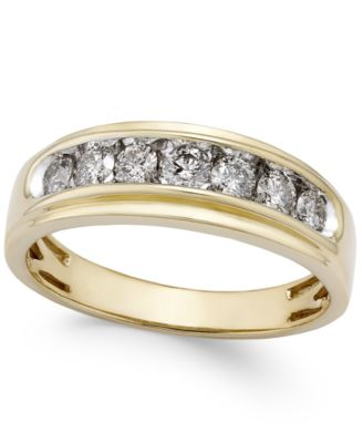 Men's Diamond Band (3/4 ct. t.w.) in 10k Gold