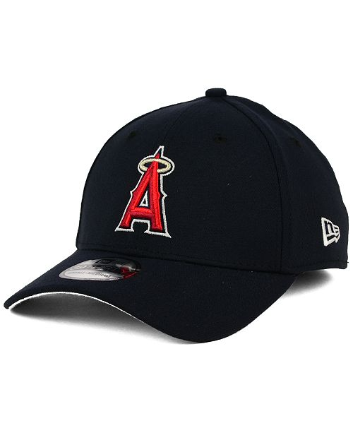 super popular 48025 f47e9 ... New Era Los Angeles Angels of Anaheim Core Classic 39THIRTY Cap ...
