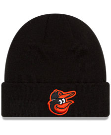 New Era Baltimore Orioles Basic Cuffed Knit Hat