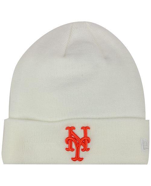 best website ad603 19a0e ... sweden new era new york mets basic cuffed knit hat sports fan shop by  lids men